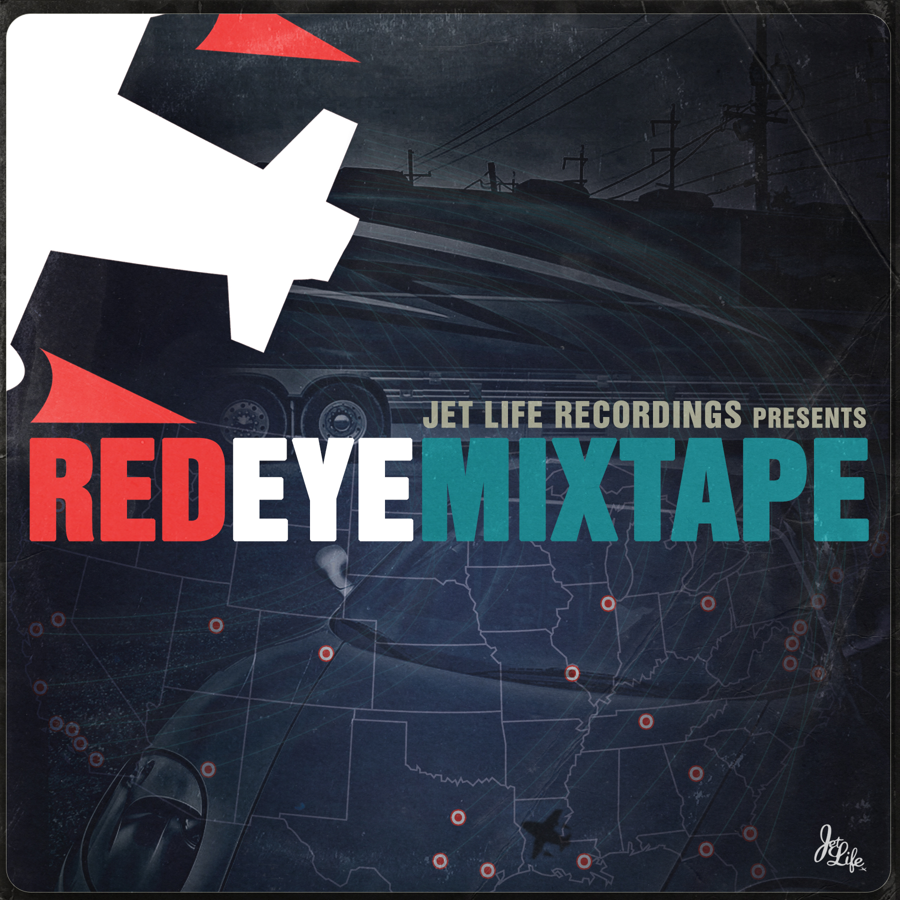 Curren$y & The Jets ~ Red Eye Mixtape